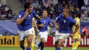 Luca Toni Fabio Cannavaro - Italy 2006