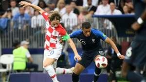 france croatia - kylian mbappe luka modric -world cup final - 15072018