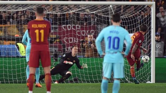 AS Roma penalty
