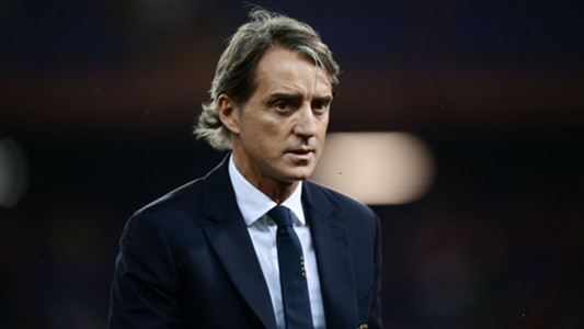 Roberto Mancini Italy Ukraine international friendly 10102018