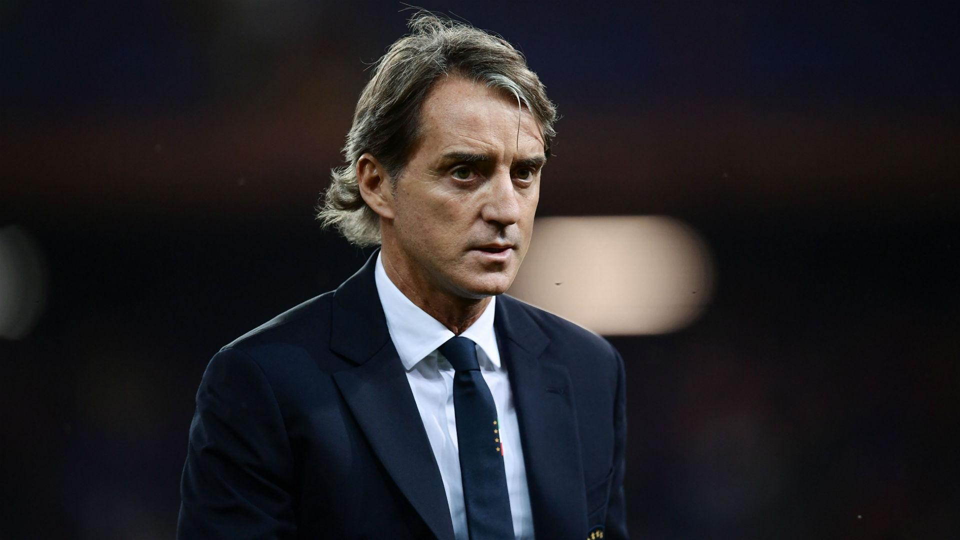 Roberto Mancini Italy Ukraine international friendly 10102018