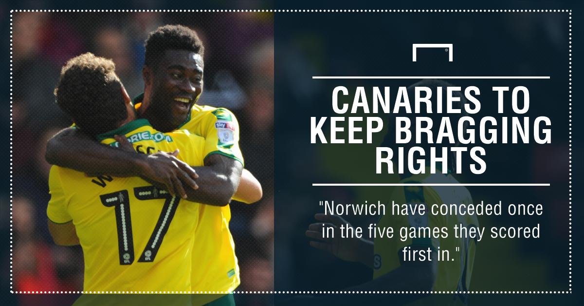 Maddison stars as Norwich down Ipswich in derby