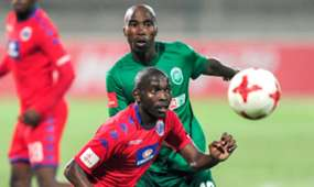 AmaZulu, Siyabonga Nomvethe & Aubrey Modiba, SuperSport United