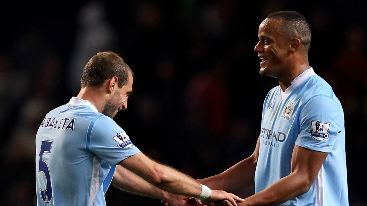 Vincent Kompany pays glowing tribute to Manchester City legend