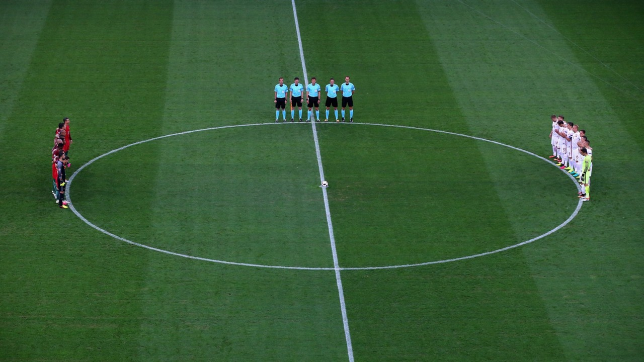 Poland Portugal minutes of silence