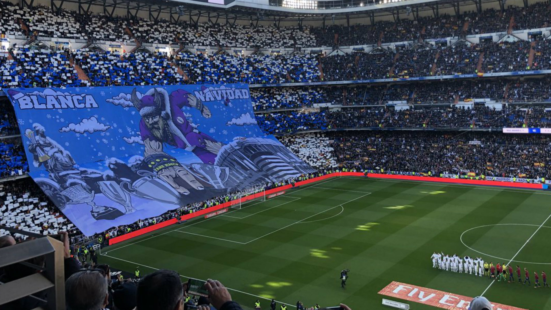 Tifo Real Madrid Barcelona