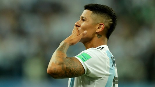 argentina world cup marcos rojo winner brought joy and a big