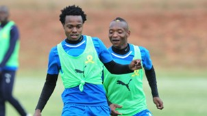 Percy Tau & Khama Billiat, Mamelodi Sundowns, May 2017