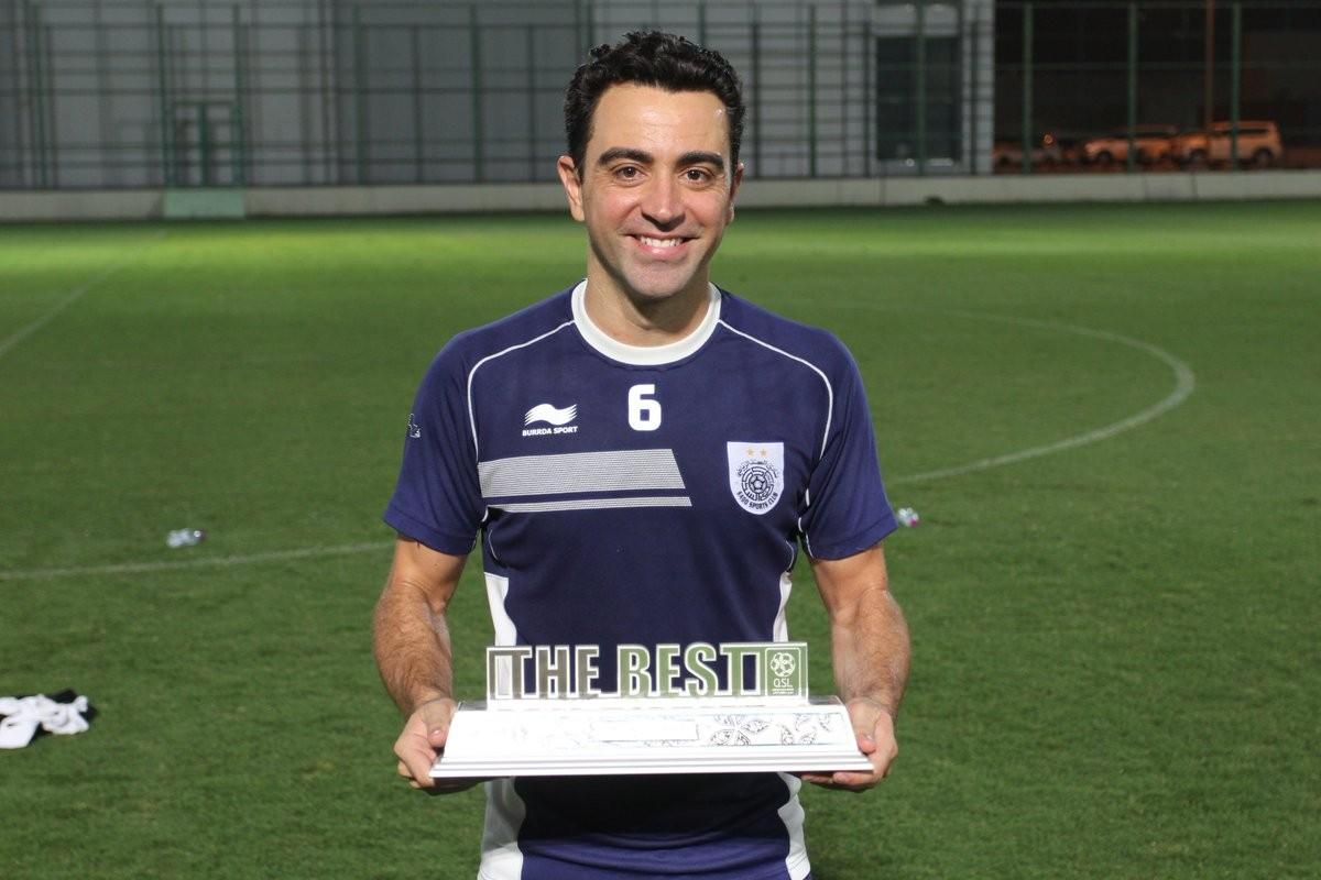 Xavi ushered into coaching in Qatar