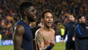 Neymar Barcelona Champions League