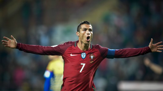 Cristiano Ronaldo Portugal v Andorra World Cup qualifying 07102016