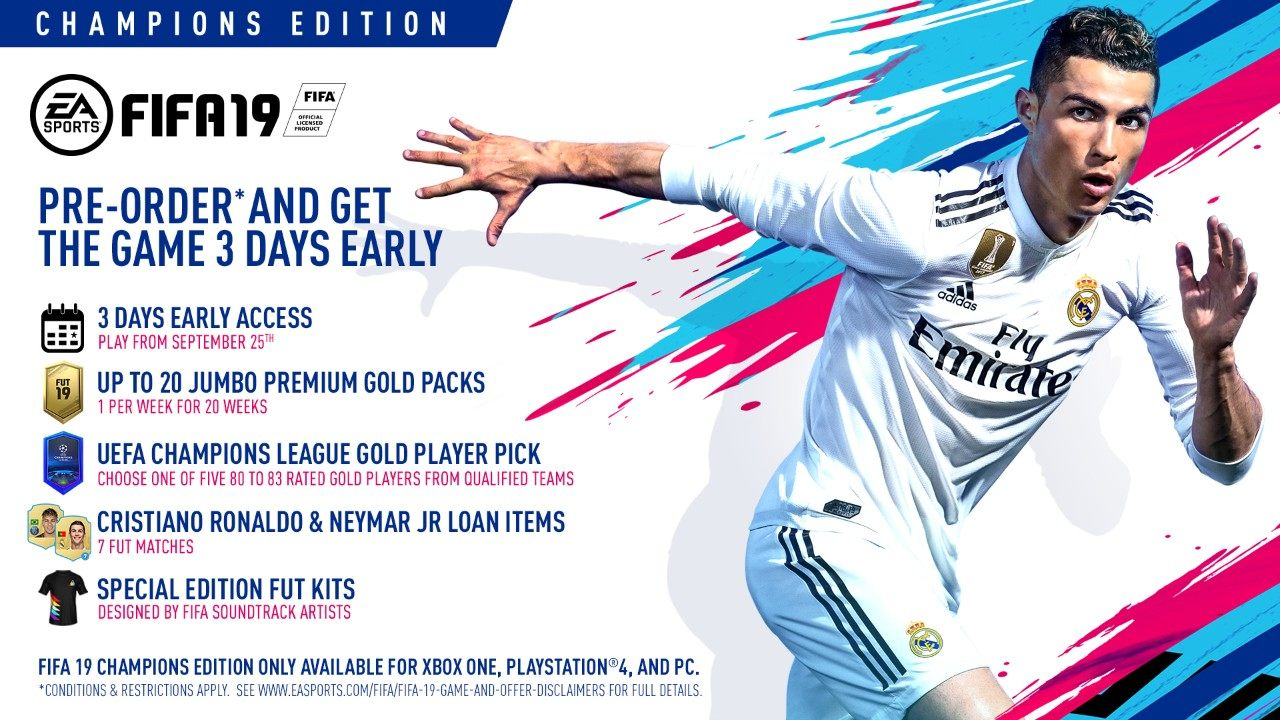 Fifa 19 New Champions League Features In Ultimate Team The Journey