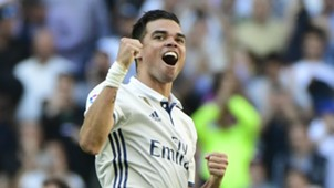 Pepe Real Madrid Atletico Madrid La Liga