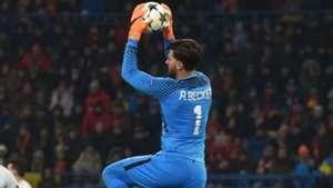 Alisson Shakhtar Roma Champions League