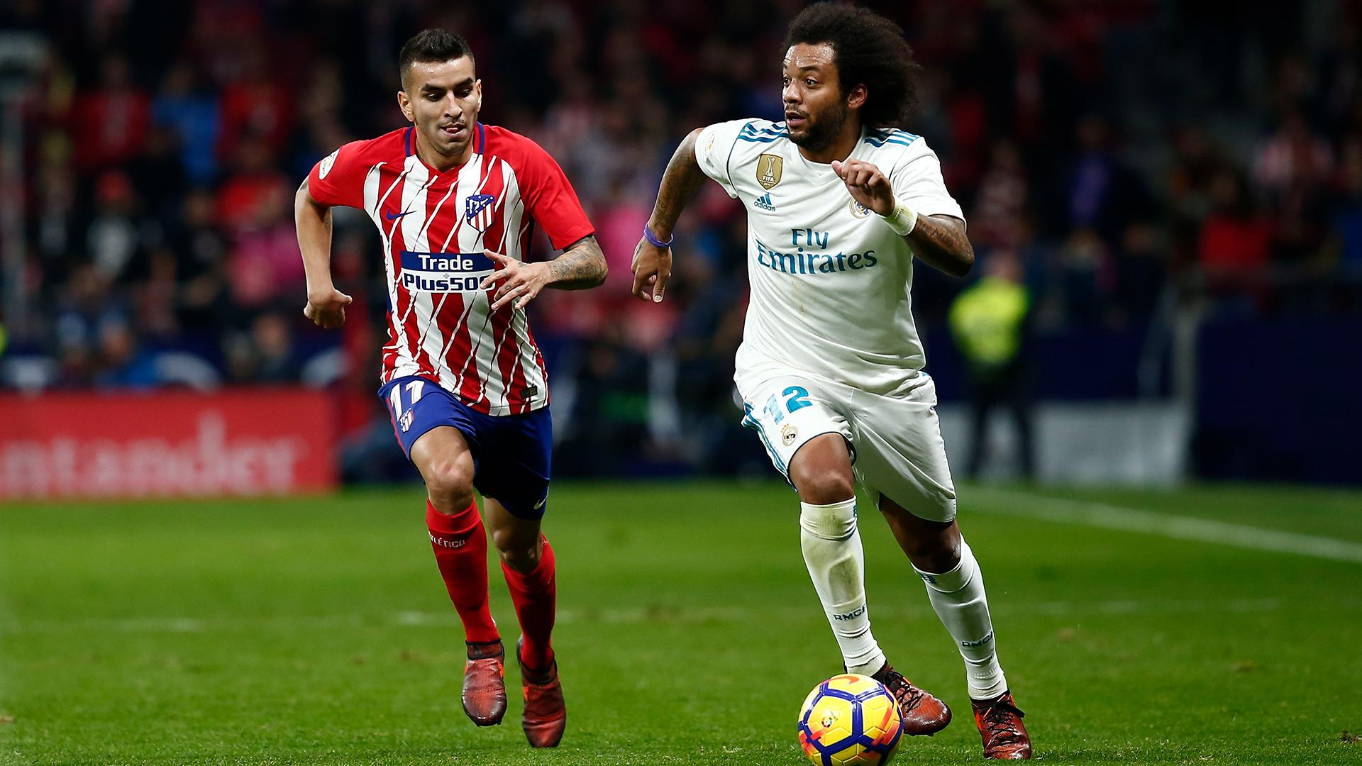 Atletico Real Madrid Correa Marcelo 18112017