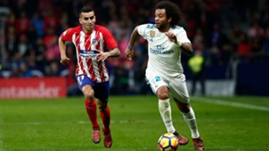 Atletico Real Madrid Correa Marcelo 18112017