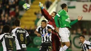 Jandrei David Braz Chapecoense Santos Brasileirao Serie A 22072018