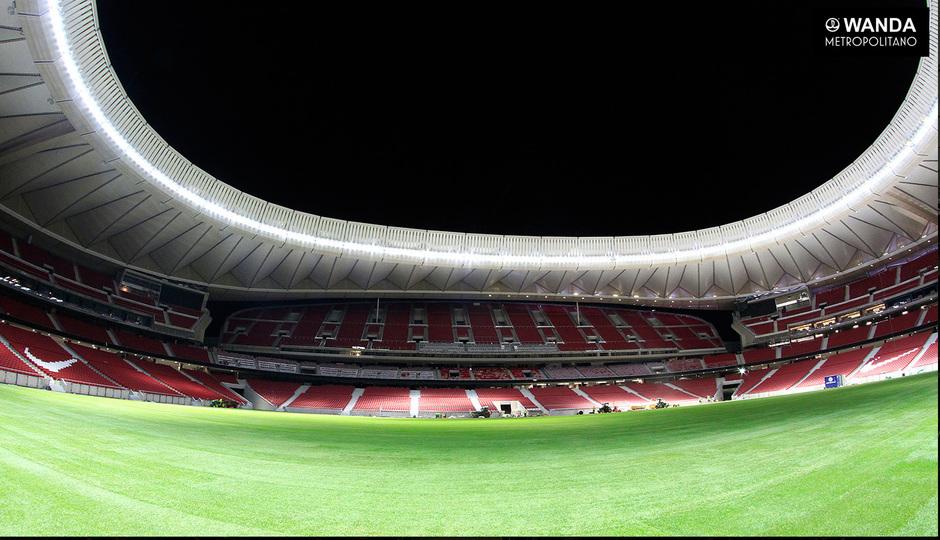 Wanda Metropolitano Atletico inside
