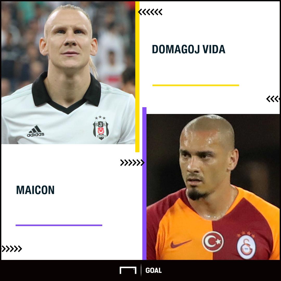 Domagoj Vida Maicon