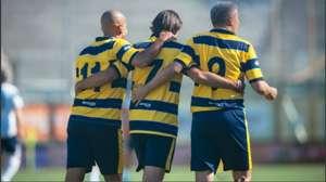 Hernan Crespo Juan Sebastian Veron Diego Fuser Parma