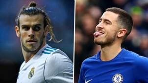 Gareth Bale Eden Hazard Real Madrid Chelsea