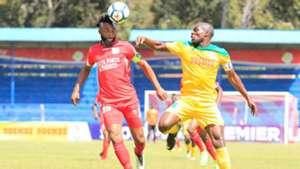 Felly Mulumba of Bandari FC v Mathare United.