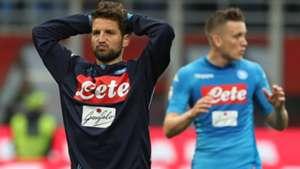 Mertens Milan Napoli Serie A