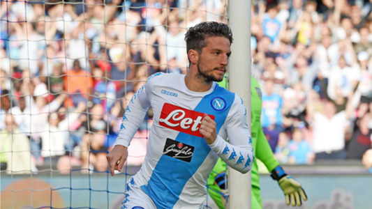 Dries Mertens Napoli Cagliari Serie A
