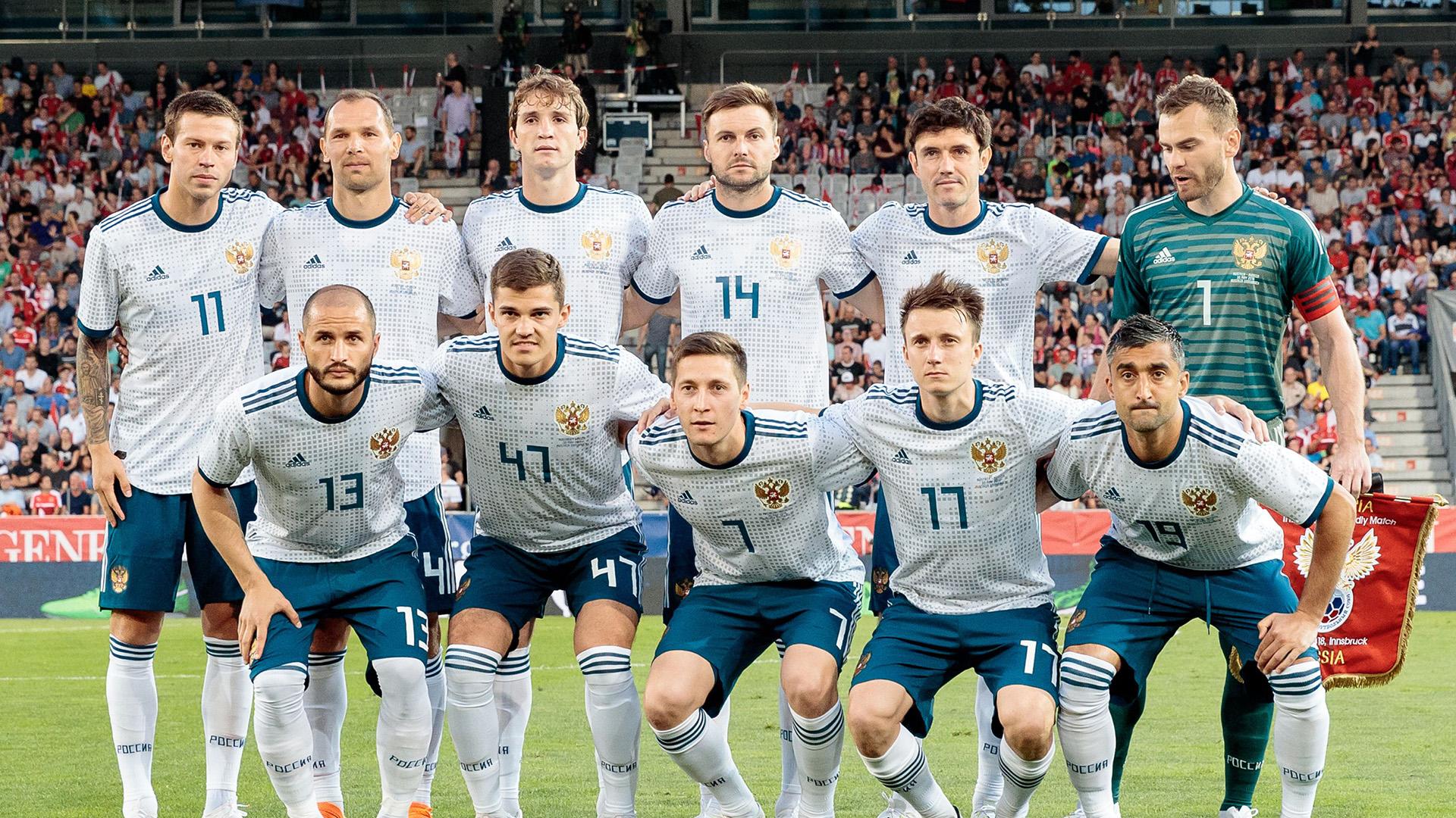 Russland Nationalmannschaft 30052018