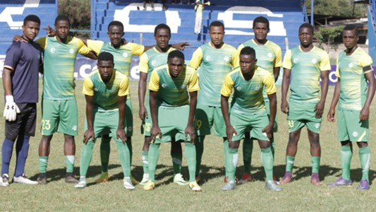 Kariobangi Sharks squad v Mathare United.