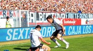 Fernando Meza Esteban Paredes Colo Colo Wanderers 151017