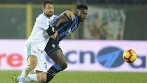 Duvan Zapata Francesco Acerbi Atalanta Lazio Serie A