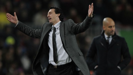 Unai Emery Pep Guardiola