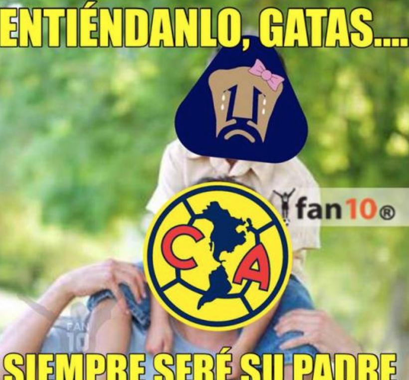 Memes América vs Pumas