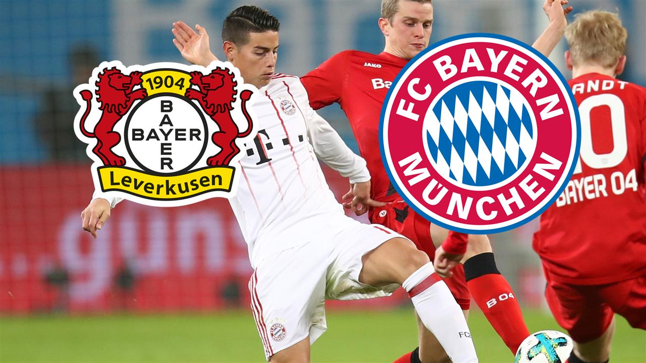 Bayer Leverkusen FC Bayern München GFX