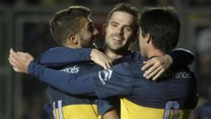 Gino Peruzzi Fernando Gago Pablo Perez Boca Juniors