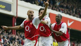 Thierry Henry Robert Pires Lauren Arsenal