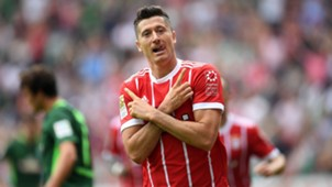 Robert Lewandowski Bayern Munich Bundesliga 08262017