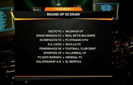 Sorteo Europa League