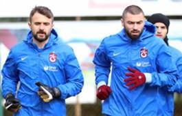 Burak Yilmaz Onur Kivrak Trabzonspor