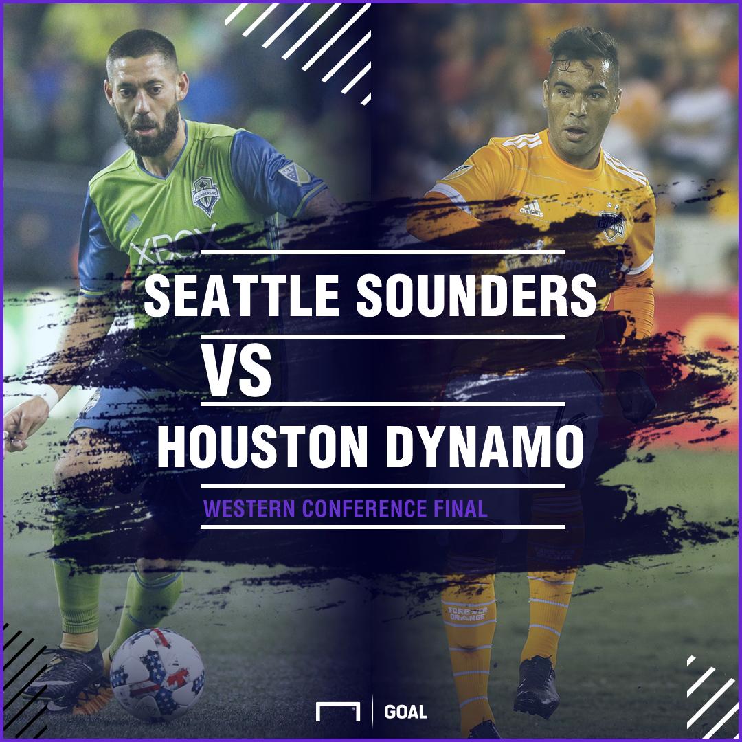 Seattle Sounders Houston Dynamo GFX
