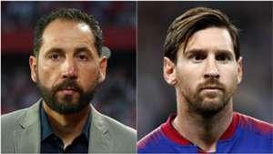 Pablo Machin Lionel Messi Barcelona Sevilla