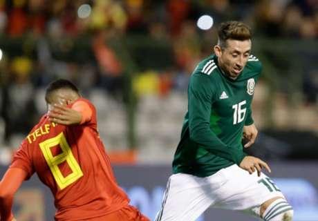 Héctor Herrera causó baja de la Selección Mexicana