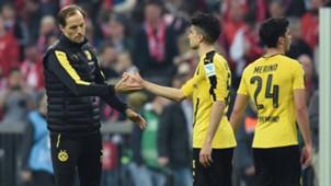 Mikel Merino Thomas Tuchel Marc Bartra Borussia Dortmund 26102017
