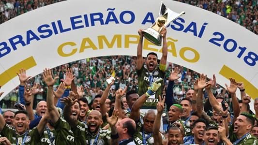 Palmeiras campeão Brasileirão Série A 02122018