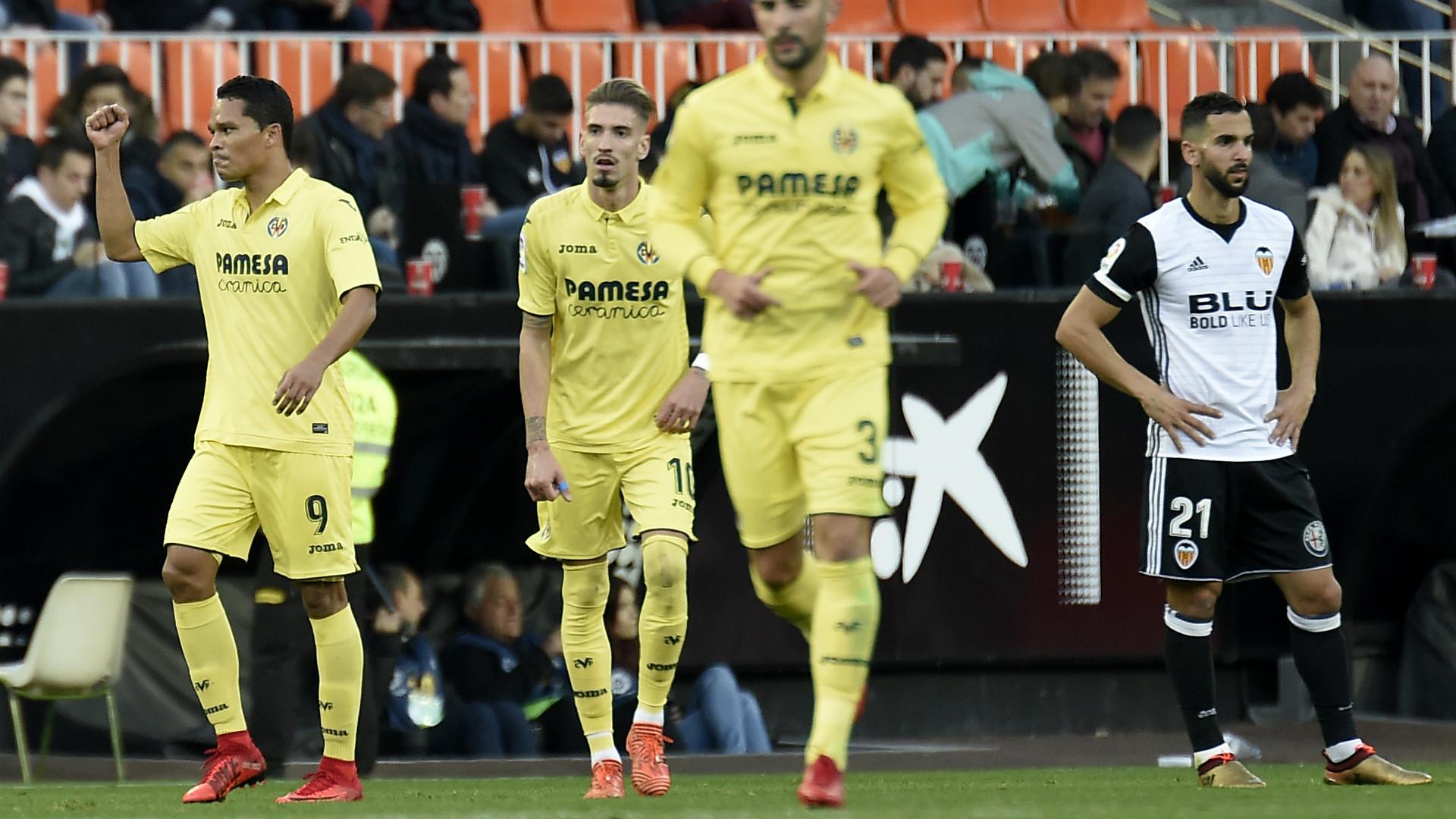Bacca Villarreal Valencia LaLiga