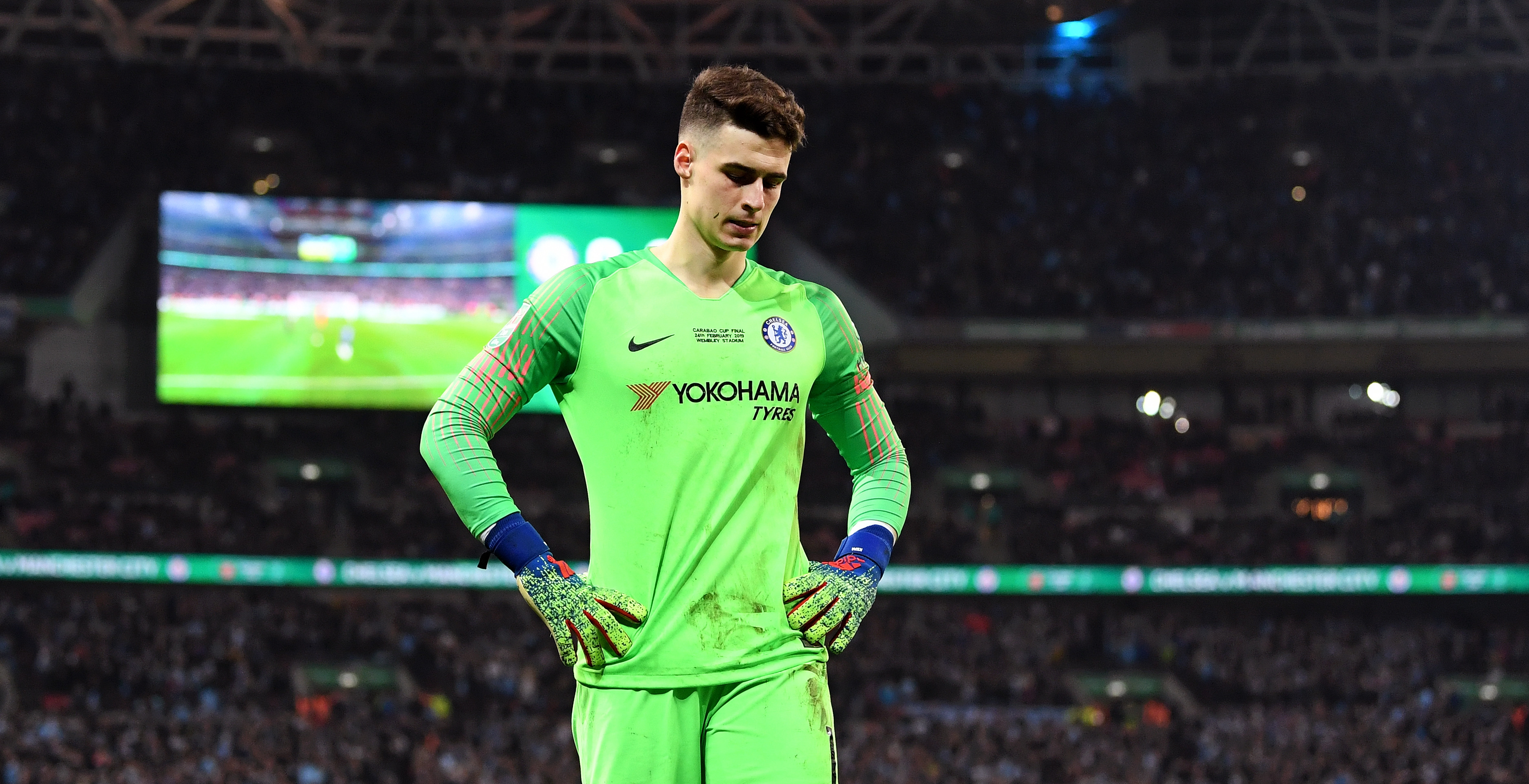 Kepa Arrizabalaga Chelsea Manchester City 02/24/19