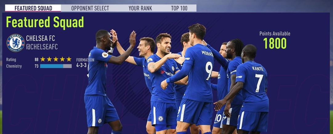 FIFA Ultimate Team @ChelseaFC