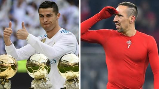 Cristiano Ronaldo Franck Ribery