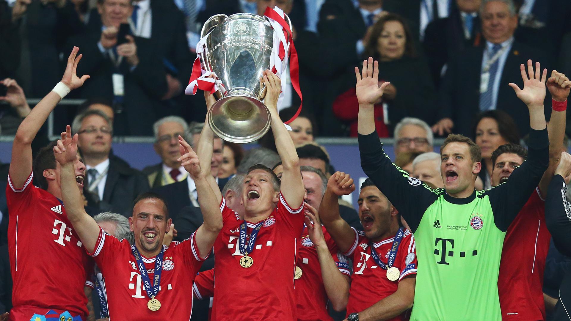 Bayern 2013 Champions League winners